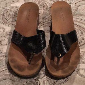 Backless sandal